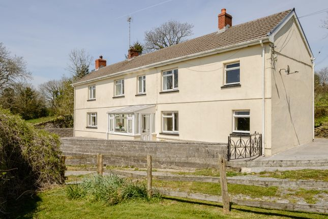 Thumbnail Detached house for sale in Cwmbach, Whitland