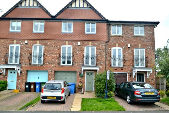 Thumbnail Town house for sale in Highfield Close, Davenport, Stockport, Cheshire