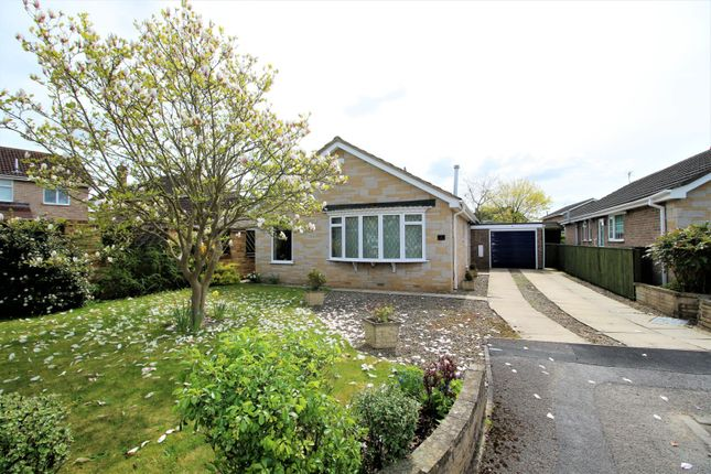 Thumbnail Detached bungalow for sale in Lund Close, York