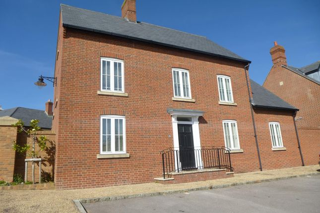 Thumbnail Detached house to rent in Peverell Avenue West, Poundbury, Dorchester