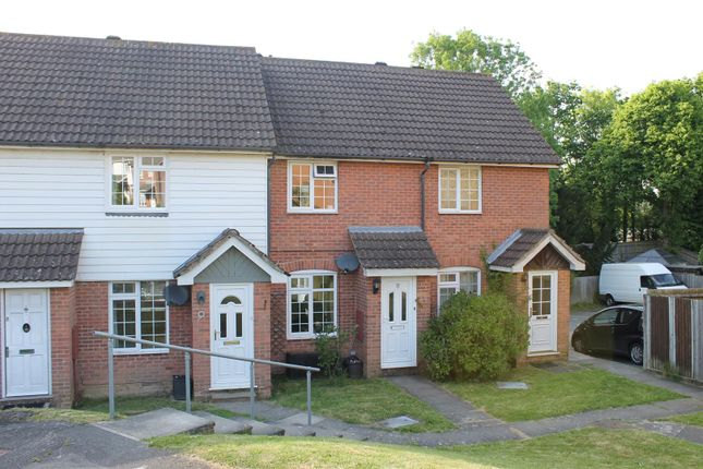 Thumbnail Terraced house for sale in Rowan Close, Heathfield