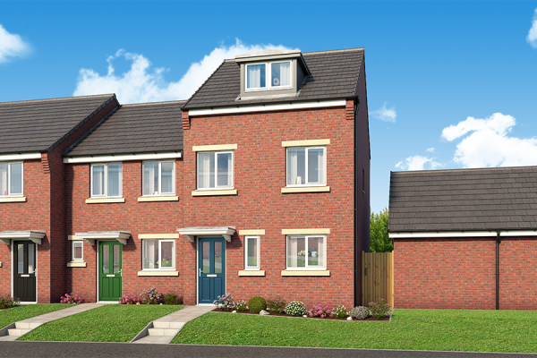 """Thumbnail Property for sale in """"The Oakhurst At Derwent Heights"""" at Derwent Heights, Dunston"""