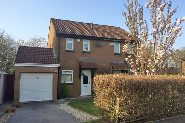 2 bed semi-detached house for sale in Jenkins Close, Staddiscombe, Plymouth, Devon