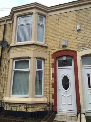 Thumbnail Shared accommodation to rent in Edinburgh Road, Kensington, Liverpool