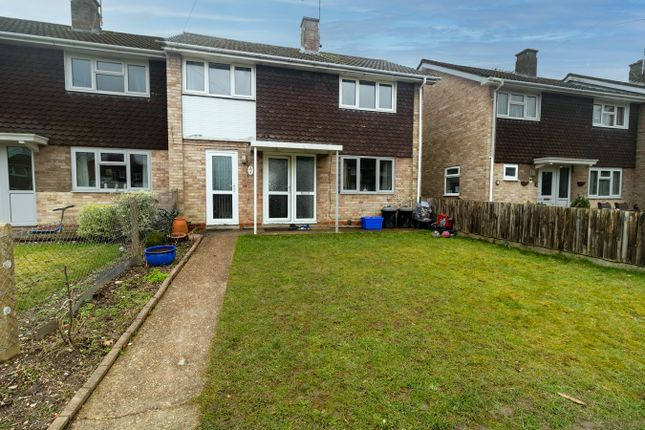 Thumbnail End terrace house for sale in Brookside, Totton, Southampton