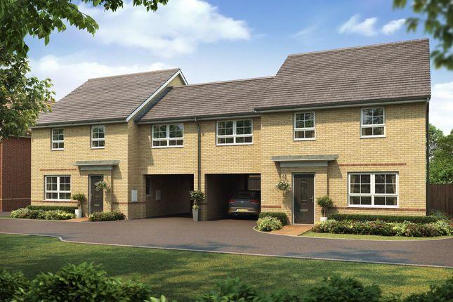 "Thumbnail Semi-detached house for sale in ""Cheltenham"" at The Ridge, London Road, Hampton Vale, Peterborough"