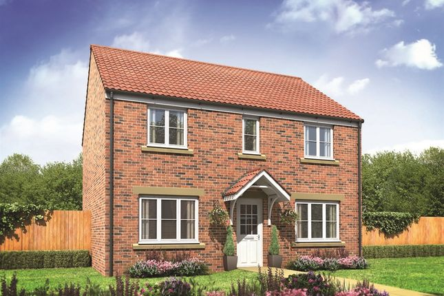"Thumbnail Detached house for sale in ""The Chedworth"" at Derwen View, Brackla, Bridgend"
