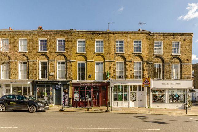 Thumbnail Maisonette to rent in Amwell Street, Angel, London