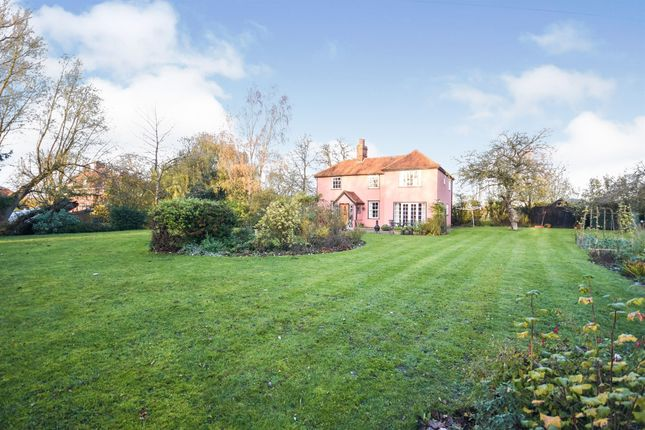 Thumbnail Detached house for sale in Skye Green, Feering, Colchester