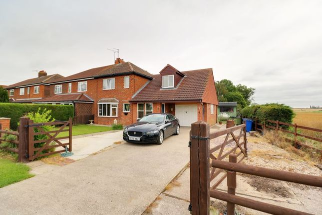 Thumbnail Semi-detached house for sale in West View, Scotterthorpe, Gainsborough