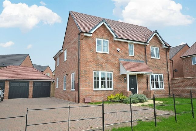 Thumbnail Detached house for sale in Home Farm Drive, Boughton, Northampton