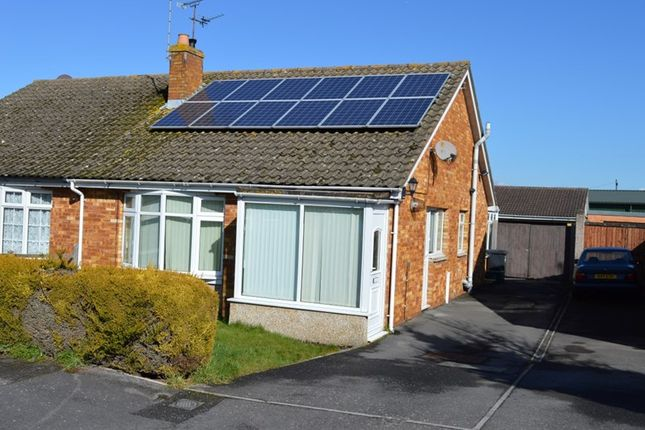Thumbnail Semi-detached bungalow for sale in Homefield, Locking, Weston-Super-Mare