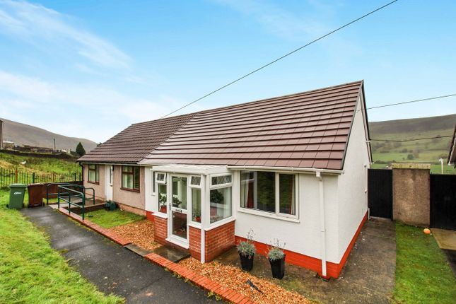 Thumbnail Semi-detached bungalow for sale in Warnes Terrace, Rhymney, Tredegar
