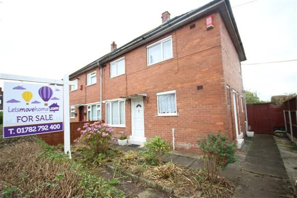 Thumbnail Semi-detached house for sale in Lambourn Place, Blurton, Stoke-On-Trent