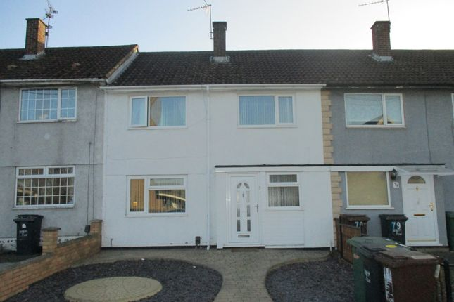 Thumbnail Terraced house for sale in Beanfield Avenue, Beanfield, Corby