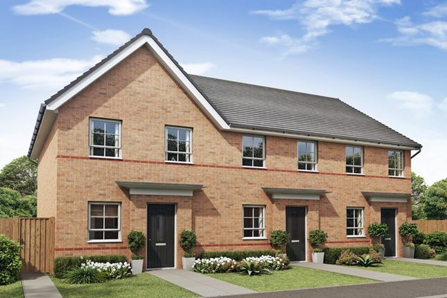 """Thumbnail Semi-detached house for sale in """"Richmond"""" at Tregwilym Road, Rogerstone, Newport"""