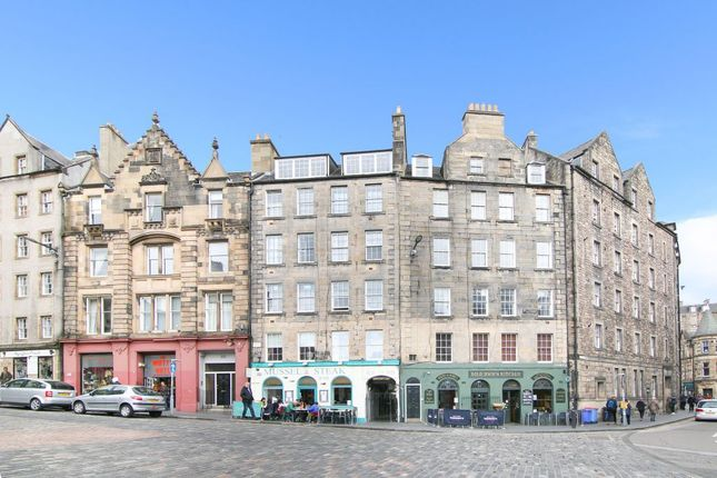Thumbnail 2 bed flat for sale in 112A/12 West Bow, Edinburgh