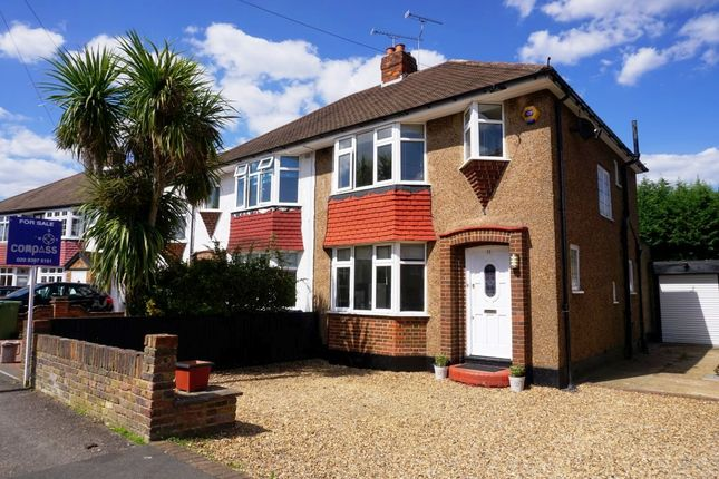 Thumbnail Semi-detached house for sale in Meadow Way, Chessington