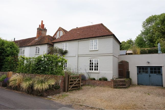 Thumbnail End terrace house for sale in Hardwick Road, Whitchurch On Thames