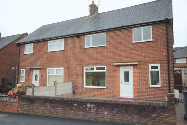 Thumbnail Semi-detached house to rent in Cheviot Close, Newcastle-Under-Lyme