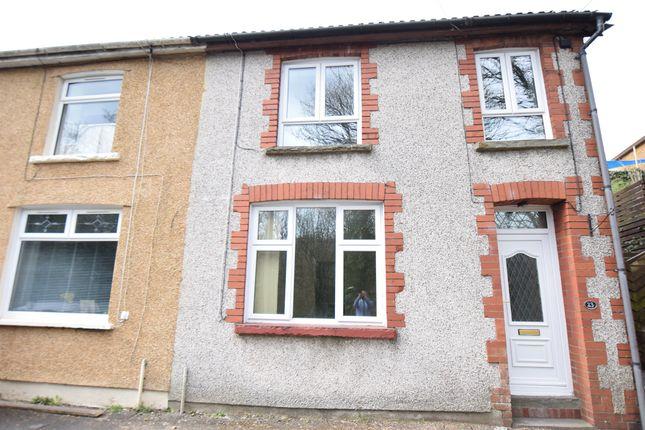 Thumbnail End terrace house for sale in King Charles Road, Newbridge, Newport