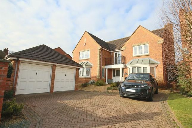 5 bed detached house for sale in Station Road, Haughton, Stafford
