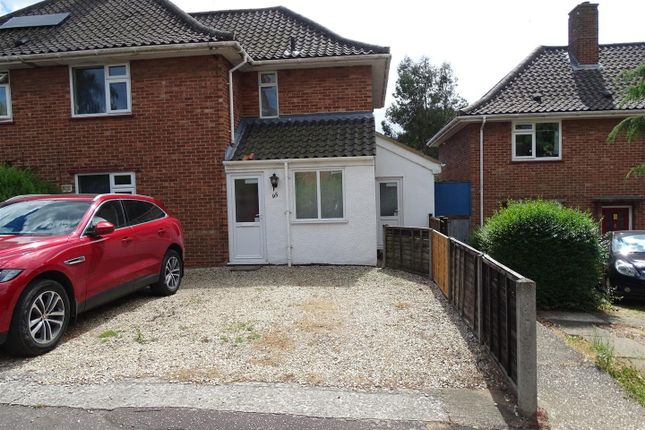Thumbnail Property to rent in Pettus Road, Norwich