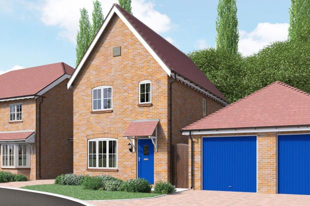 Thumbnail Link-detached house for sale in Furze Lane, Godalming
