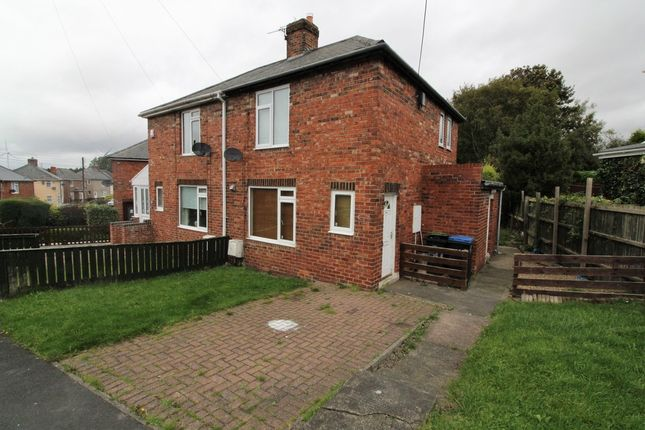 Thumbnail Semi-detached house to rent in Barnard Avenue, Ludworth, Durham