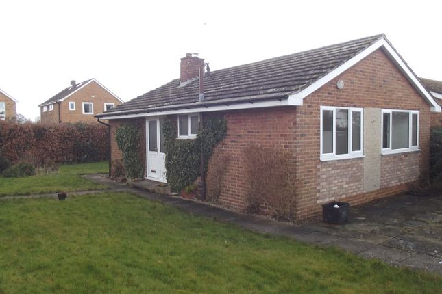 Thumbnail Detached bungalow to rent in Kingsmoor Road, Stockton On The Forest, York
