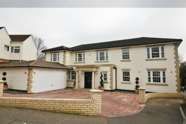 Thumbnail Detached house for sale in Bassingbourne Close, Broxbourne, Herts