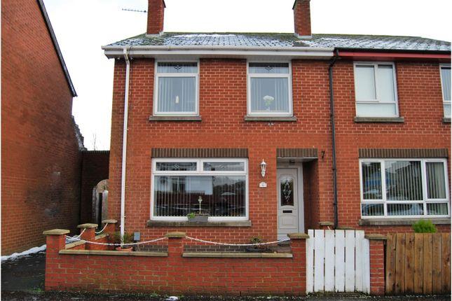 Thumbnail End terrace house for sale in Grand Street, Lisburn