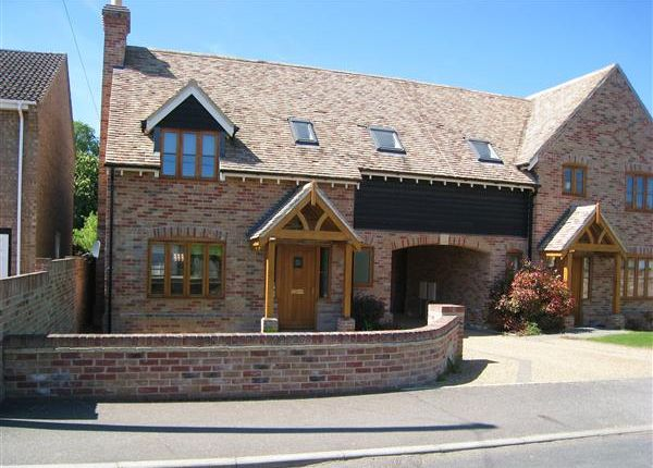 Thumbnail Link-detached house to rent in Bowers Lane, Isleham, Ely