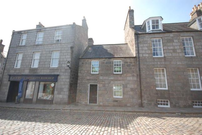 Thumbnail Terraced house to rent in High Street, Old Aberdeen