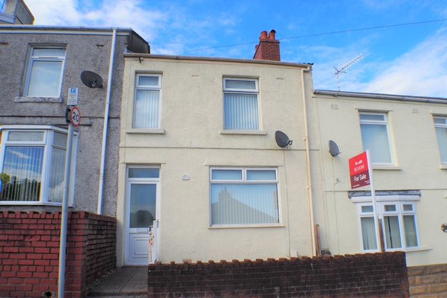 Thumbnail Terraced house to rent in Pwll Street, Swansea