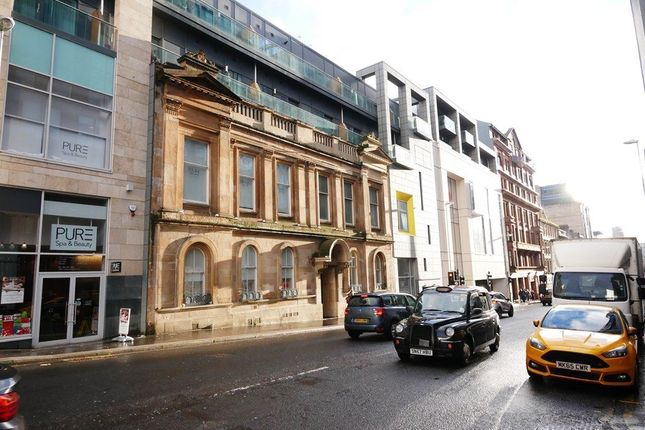 Thumbnail Flat to rent in West Nile Street, Glasgow