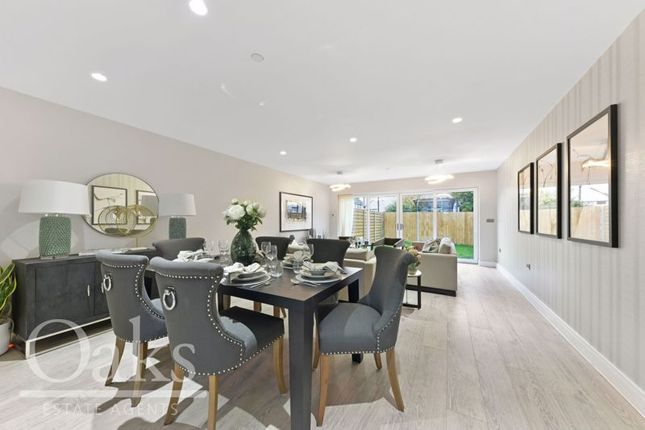 Thumbnail End terrace house for sale in Canmore Gardens, London