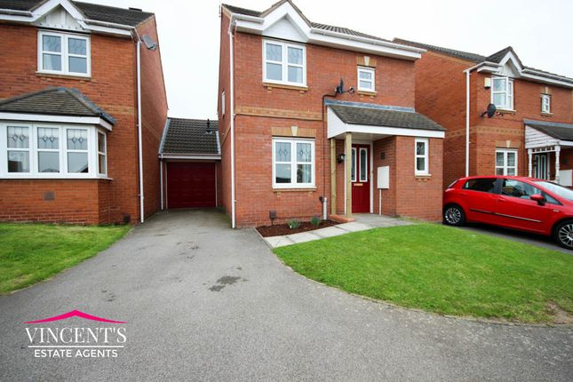 Thumbnail Detached house for sale in Impey Close, Thorpe Astley, Braunstone Town, Leicester
