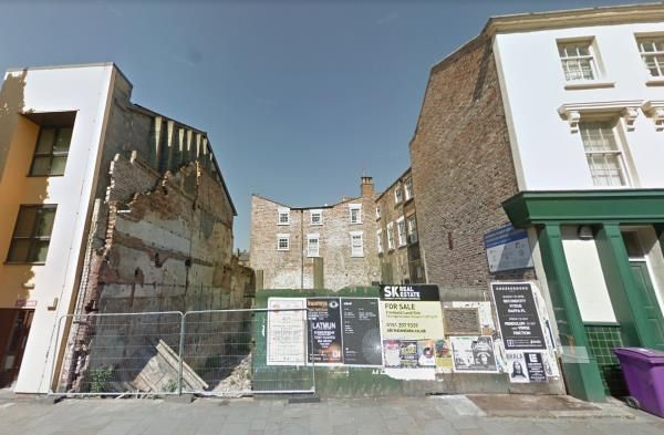 Thumbnail Land for sale in Dukes Terrace, Liverpool