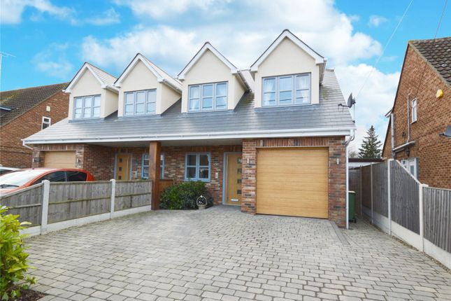 Thumbnail Semi-detached house for sale in Parklands, Rochford, Essex