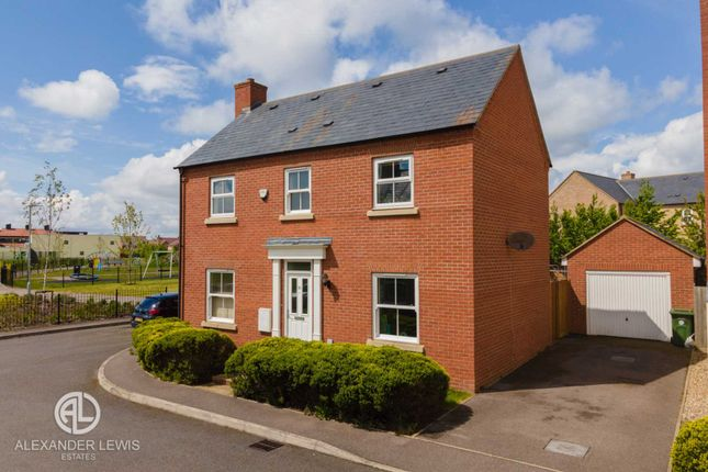 Thumbnail Detached house for sale in Angelica Avenue, Stotfold, Hitchin