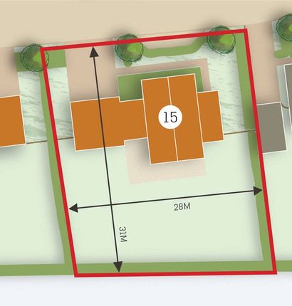 Plot 15 Outline of Bullocks Pit Lane, Longworth, Abingdon OX13