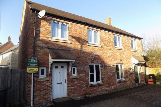 3 bed semi-detached house for sale in Twineham Road, Blunsdon, Swindon