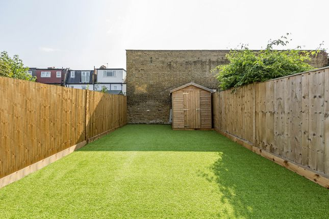 Thumbnail End terrace house to rent in Effra Road, London