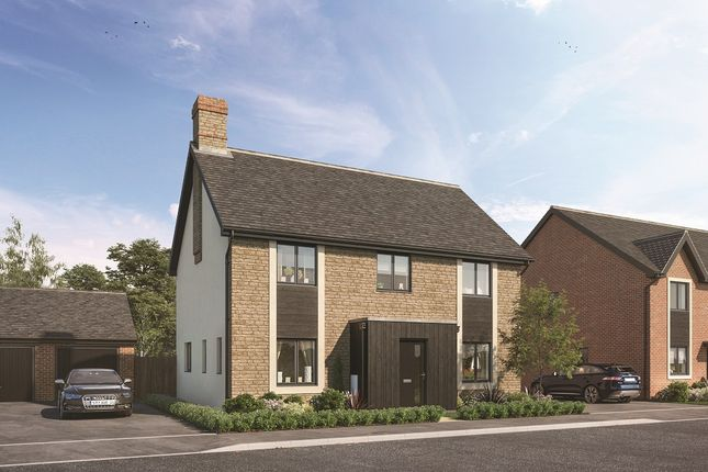 "Thumbnail Property for sale in ""The Calder"" at Downs Road, Minster Lovell, Witney"