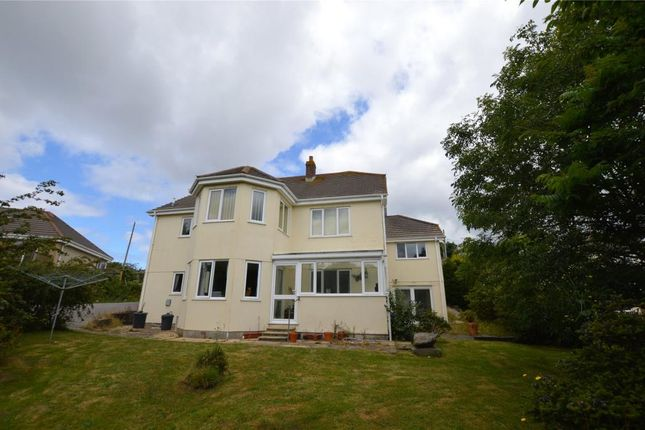 Thumbnail Detached bungalow for sale in Pennance Road, Lanner, Redruth, Cornwall