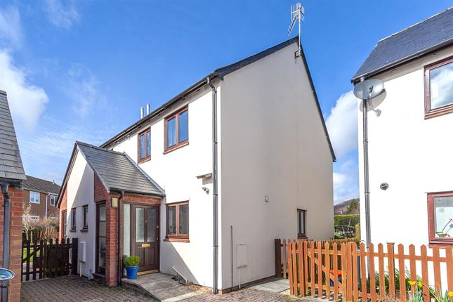 Thumbnail Semi-detached house for sale in Noble Court, Knighton