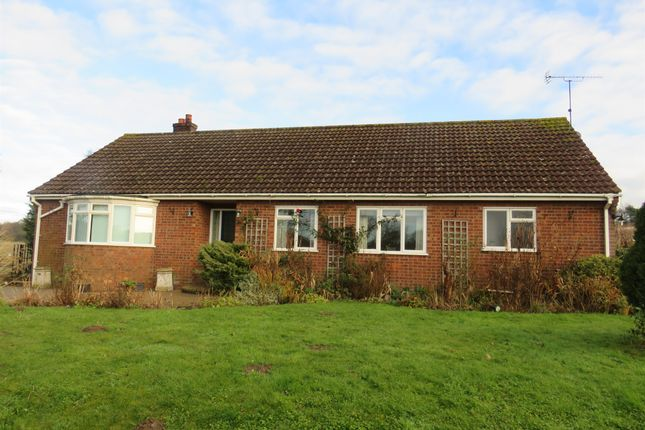 Thumbnail Detached bungalow for sale in Holt Road, Edgefield, Melton Constable