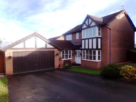 Thumbnail Detached house for sale in Birkdale Gardens, Winsford, Cheshire, England