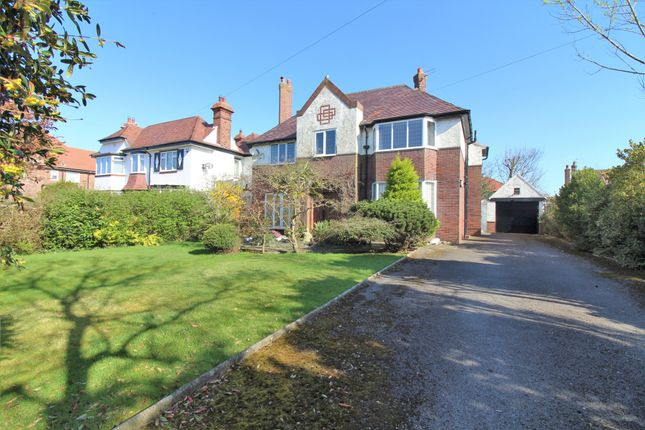 Thumbnail Detached house for sale in Victoria Road West, Cleveleys